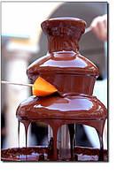 О шоколадном фонтане и его пользе....
