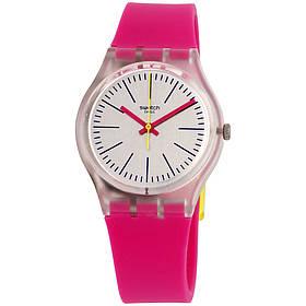 Жіночий годинник Swatch GE256 Pink SKL35-189143