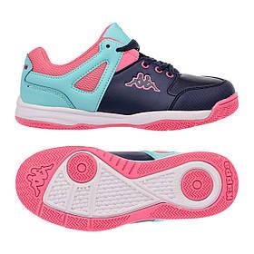 Підліткові кросівки Kappa Decerto Kid 37 Navy-Turquoise SKL35-187575