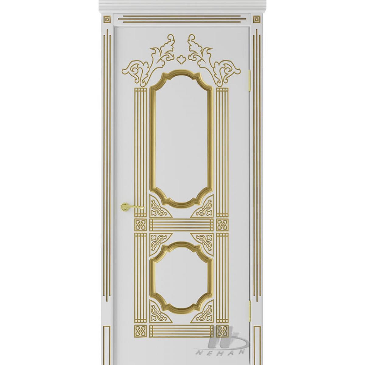 Межкомнатные двери VIP «Корона» тм Неман (без патины)