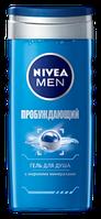 Гель для душа Nivea For Men Пробуждающий 250мл
