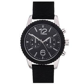 Чоловічий годинник Yourturn ss18-04-en Black SKL35-188667