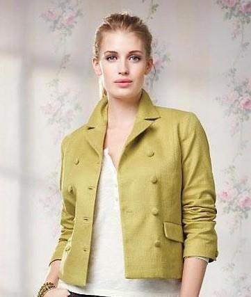 Женский двобортный пиджак TALBOTS большой размер