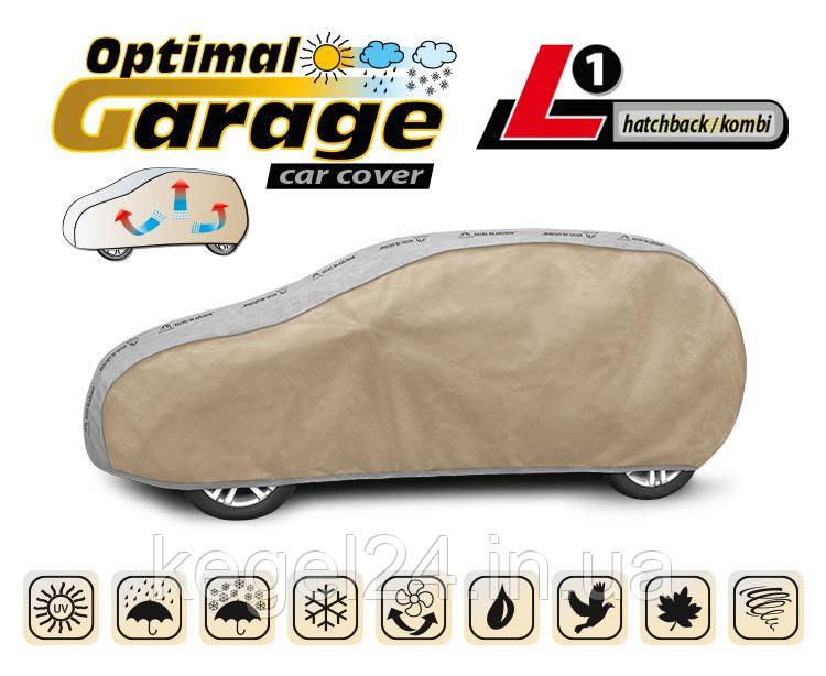 Тент для автомобіля Optimal Garage розмір L1 Hatchback