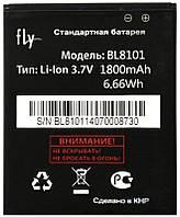 Аккумулятор АКБ Fly BL8101 для Fly IQ455 Ego Art 2 (Li-ion 3.7V 1800mAh) Оригинал Китай