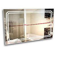 Зеркало с LED подсветкой 600х500 см для ванной комнаты (6-3)