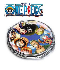 "Карманное зеркальце ""команда"" One Piece / Ван Пис"