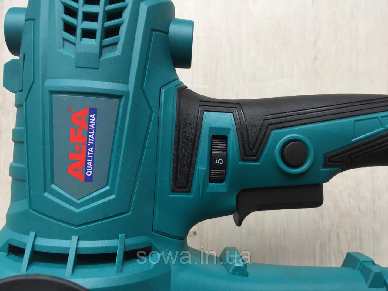 Шлифовальная машина по штукатурке AL-FA ALDWS15 с подсветкой - фото 6