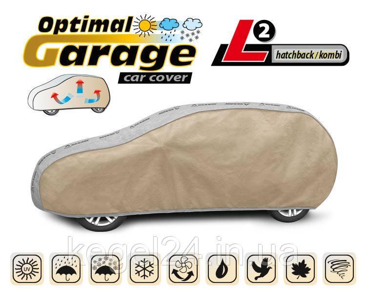 Тент для автомобіля Optimal Garage розмір L2 Hatchback