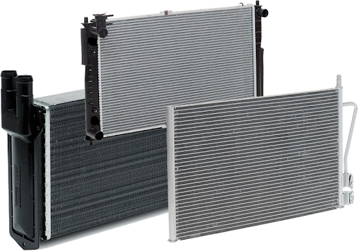 Радиатор охлаждения RENAULT MASTER II (98-) (пр-во AVA). RTA2322 AVA COOLING