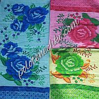 Махровое кухонное полотенце Бегония