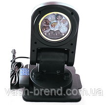 Прожектор 3600lm черный 12В