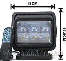 Прожектор 4800lm черный 12В