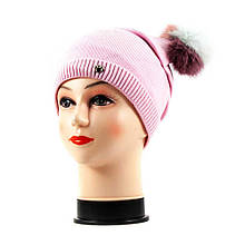 Шапка (6) светло-розовая