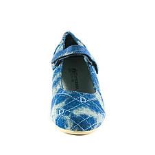 Балетки детские ШАЛУНИШКА Ш5572 синий (35), фото 3