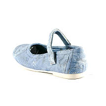 Балетки дитячі ШАЛУНИШКА блакитний 05861 (35), фото 2