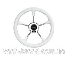 Рулевое колесо Pretech Нержавейка белый