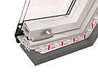 Мансардні вікна Roto Designo ПВХ WDF R88С K WD AL Мансардное окно Дахові, фото 6