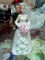 """Статуэтка на торт """"Жених и Невеста"""" St 15"""