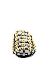 Шлепанцы женские Sopra СФ YY-100 серебрянные (36), фото 3