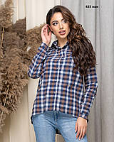 Жіноча сорочка в клітку 435 жан
