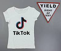 Футболка женская Tik Tok Glo-story оптом, S-XL рр. Артикул: WPO-B0631, фото 1