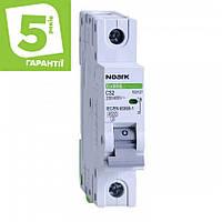 Автоматичний вимикач 1P 6А C 4,5 кА NOARK серія Ex9BS, фото 1