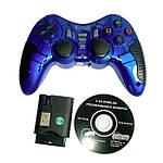 Игровой много-платформенный джойстик Wireless для PS2 PS3 PC Android TV Box (синий), фото 2