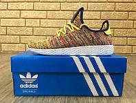 Кроссовки женские в стиле Adidas Pharrell код товара Z-1207. Желтые