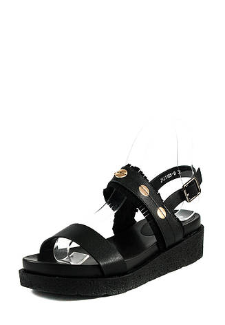Босоножки женские Sopra СФ JK61165-9 черные (38), фото 2