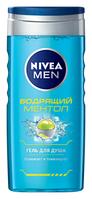Гель для душа Nivea For Men Бодрящий ментол 250мл