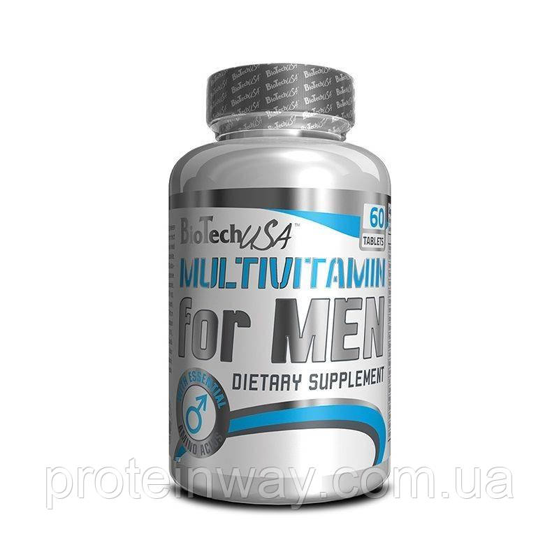Biotech USA витамины мужские Multivitamin for men 60 таб