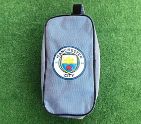 Сумка спортивная (барсетка) для обуви Манчестер Сити