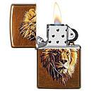 Зажигалка Zippo Polygonal Lion Design, 29865, фото 2