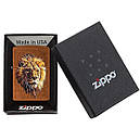 Запальничка Zippo Polygonal Lion Design, 29865, фото 5