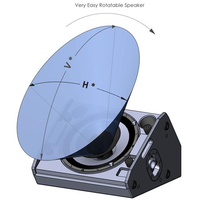 Активный сценический монитор AudioFocus CM12A