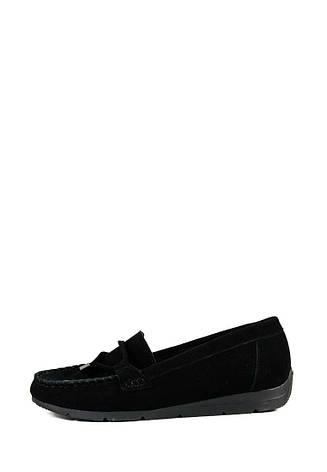 Мокасины женские Ilona СФ 264-14 черные (36), фото 2