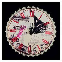 Часы Париж настенные круглые