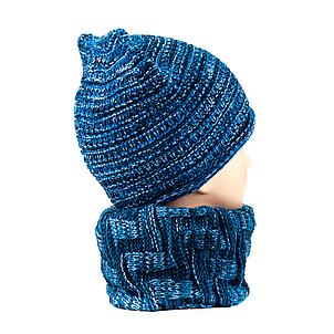 Снуд-труба-1 синий, фото 2