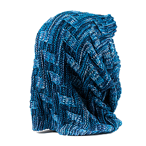 Снуд-труба-1 синий, фото 3