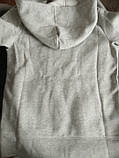 Толстовка ОРИГИНАЛ! для девочки серый меланж, 10-11 лет, Gap, фото 3