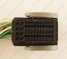 Разъем автомобильный 48-pin/контактный. Мама. 40×20 mm. Б.У