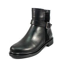 Ботинки демисез женск Julaneli Б-845 черная кожа (38)