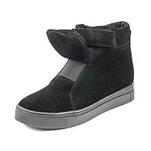 Ботинки демисез женск Julaneli Б-809 черная замша (38)