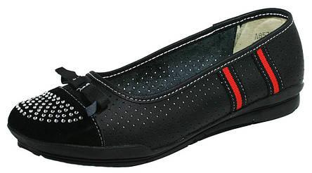 Балетки жіночі літні Comfort чорний 03129 (37), фото 2
