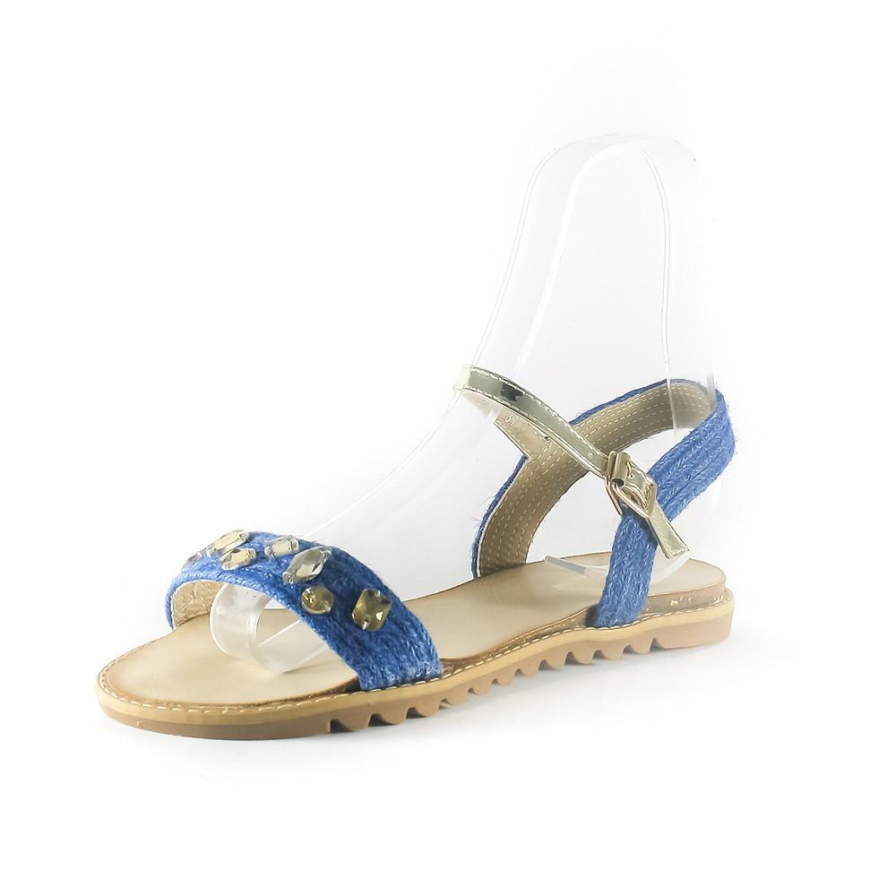 Сандалії жіночі Sopra синій 06973 (36)