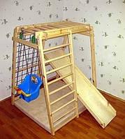 Качели и детский спортивно-игровой комплекс Малыш| спортивная шведская стенка для малышей