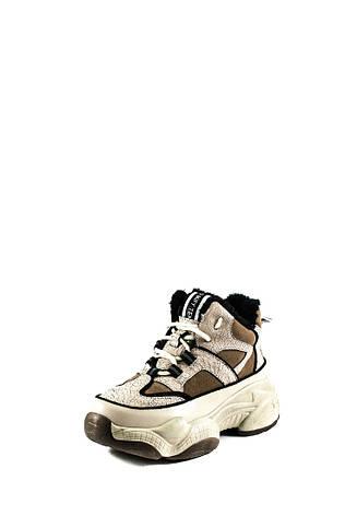 Кроссовки женские LorisBottega WG-X1804 бежевые (37), фото 2