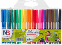 Набори кольорових фломастерів