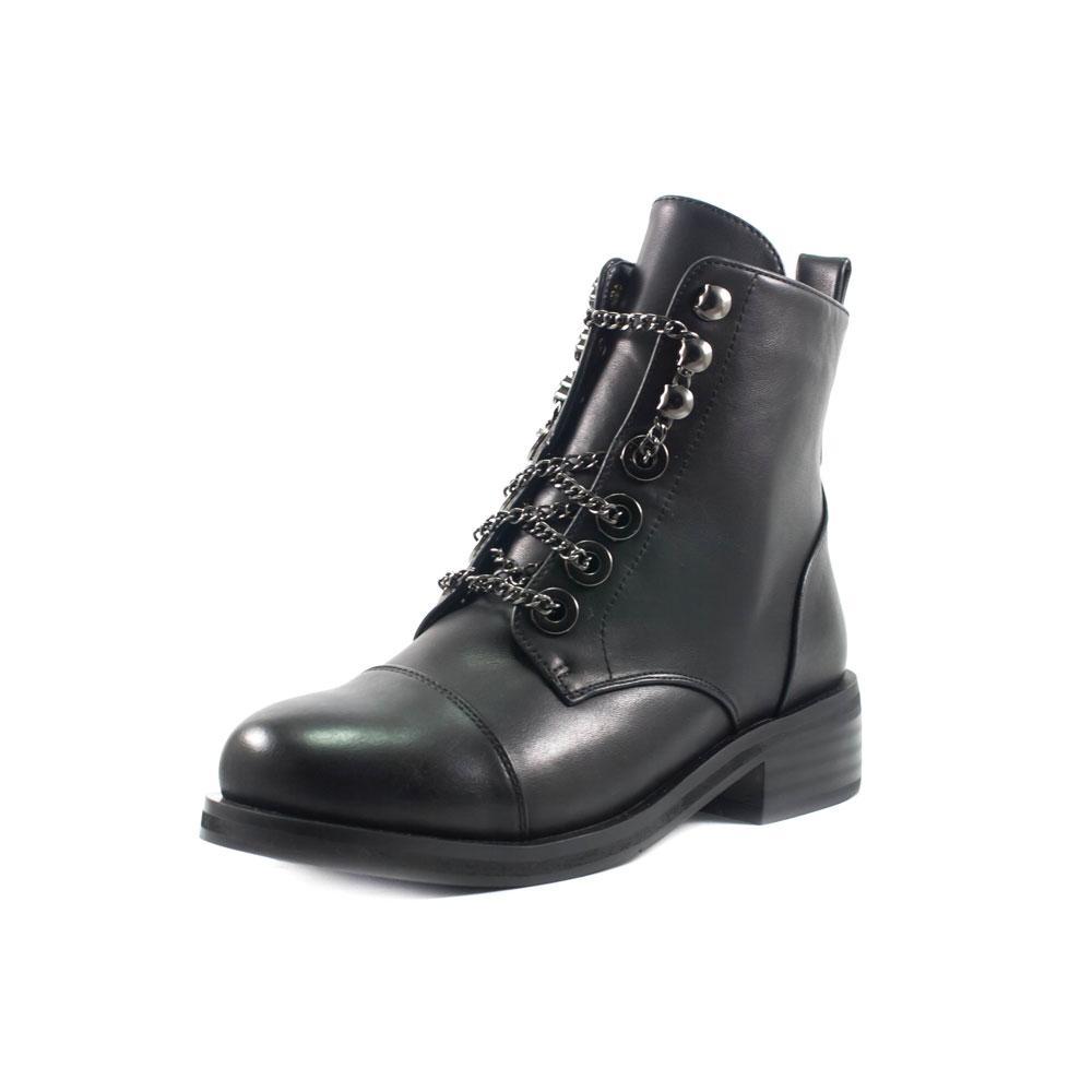 Ботинки демисезон женские Fabio Monelli W1470-703A черные (38)
